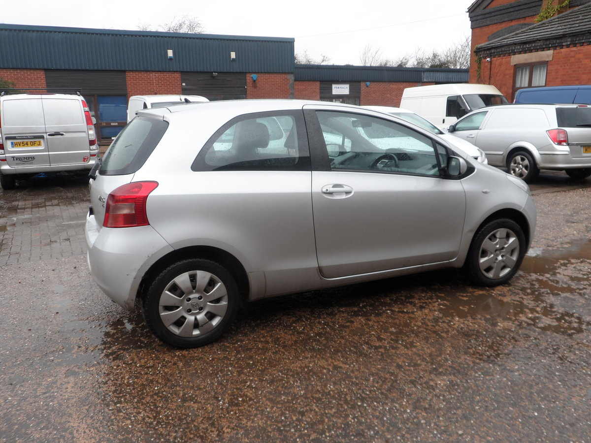 2008 SOUND DRIVER THIS 1LTR 3 DOOR YARIS WITH LONG MOT A/C ABS For Sale (picture 2 of 5)
