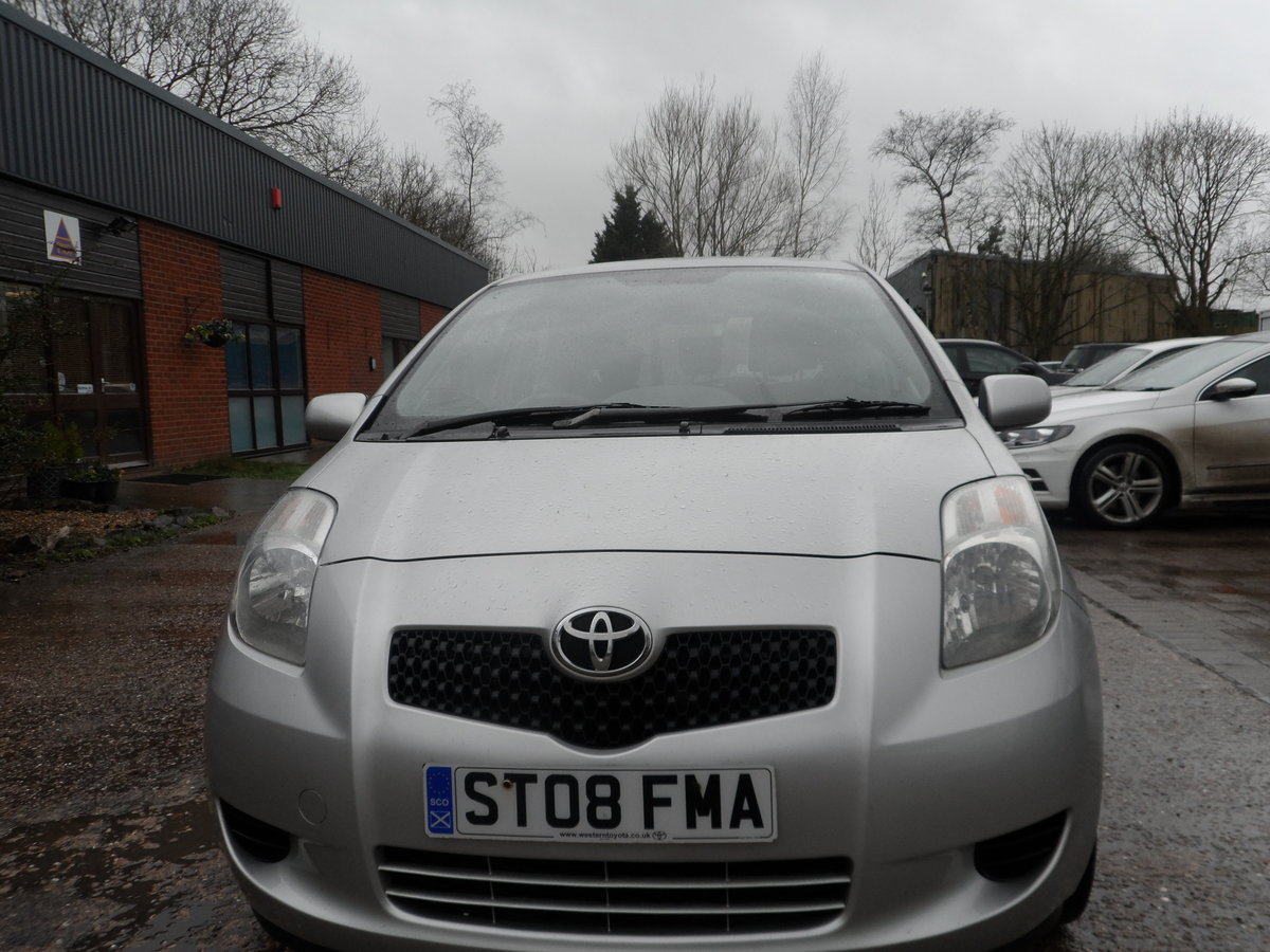 2008 SOUND DRIVER THIS 1LTR 3 DOOR YARIS WITH LONG MOT A/C ABS For Sale (picture 5 of 5)