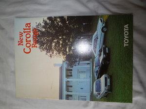 1981 Toyota Corolla Classic Eighties Brochure