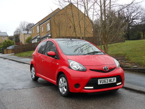 2013 Toyota Aygo 1.0 VVT-i Move With Style 5DR One Owner FSH SOLD