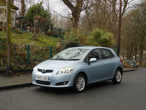 2007 Toyota Auris 1.6 VVT-i TR 5DR One Former Keeper SOLD