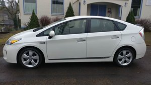 2012 Toyota Prius Plug-in Hybrid Advanced Ivory Navi $10.9k For Sale