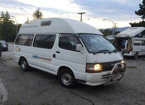 1994 Toyota Hiace Camper Van Diesel 86k miles Ivory $17.3k For Sale