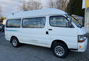 1997 Toyota Hiace Camper Van, 2.8L 4 Cylinder Diesel 4WD For Sale