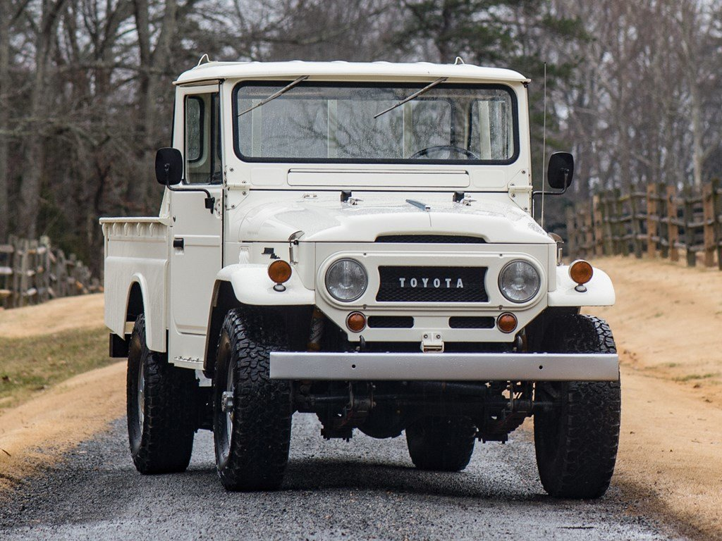 1965 Toyota FJ45 Land Cruiser Custom by TLC 44 For Sale by Auction (picture 1 of 6)