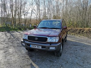 2000 Toyota Land Cruiser Amazon Vx 4.7l V8