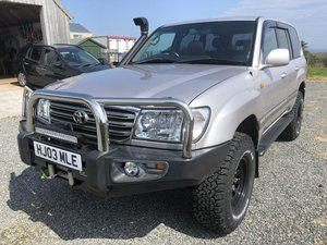 2003 Toyota Landcruiser Amazon TD A For Sale by Auction