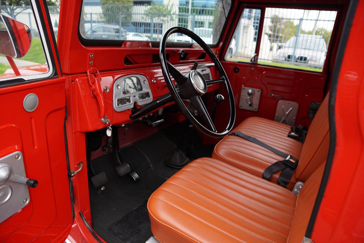 California 1965 Toyota Landcrusier FJ40L Hardtop SOLD (picture 5 of 6)