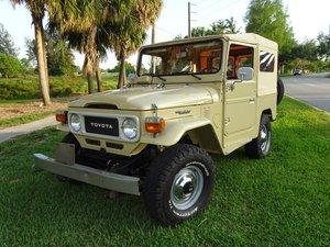 1982 Toyota FJ40 Land Cruiser