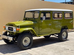 1982 Toyota FJ45 Land Cruiser Troopy