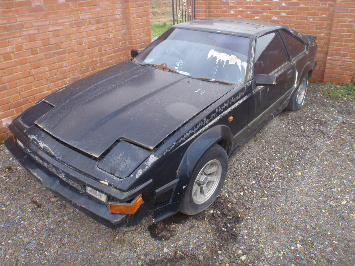 1984 Toyota celica supra, uk rhd with v5. For Sale (picture 1 of 6)