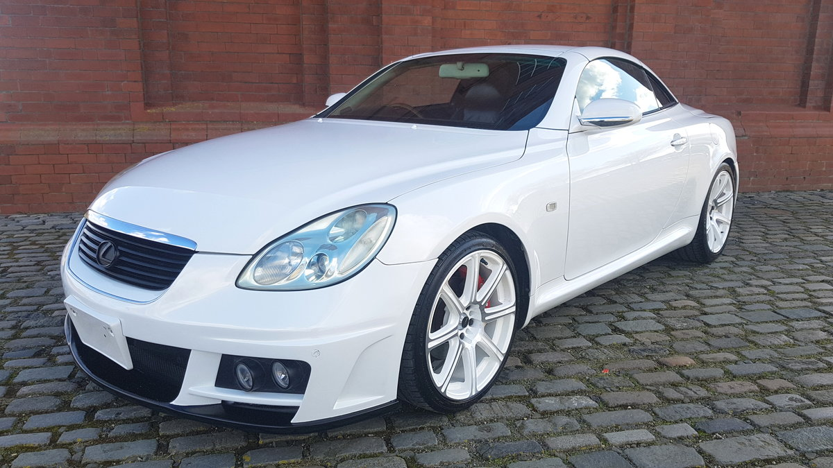 TOYOTA SOARER 2002 LEXUS SC 430 COUPE CONVERTIBLE * V8 * SOLD (picture 1 of 6)