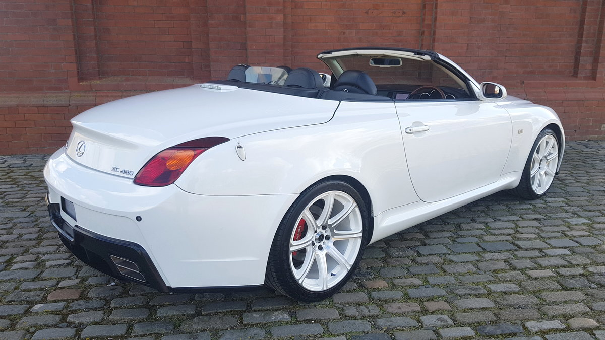 TOYOTA SOARER 2002 LEXUS SC 430 COUPE CONVERTIBLE * V8 * SOLD (picture 2 of 6)