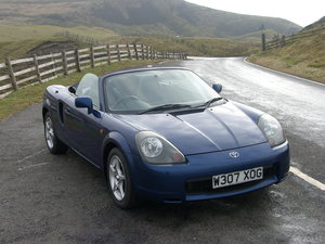 2000 Toyota MR2 Mk3 Roadster