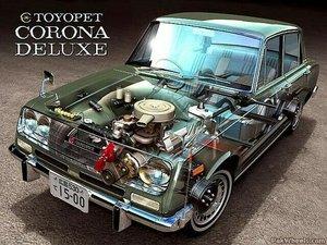 1967 Corona Deluxe RT43 USA
