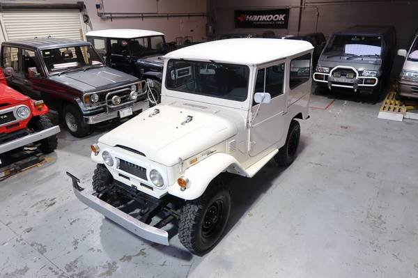 1972 Toyota Land Cruiser FJ40 RHD Rare Gas Manual Ivory $33. For Sale (picture 1 of 6)