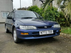 1996 Toyota corolla one former owner