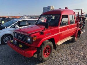 1991 Toyota Land cruiser Fire truck
