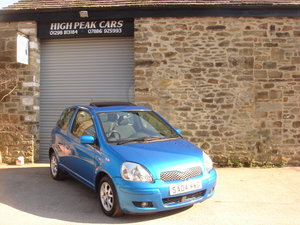 2004 04 TOYOTA YARIS 1.3 VVTI T SPIRIT 3DR AUTOMATIC. A/C.  For Sale