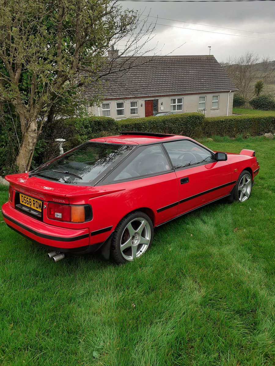 1986 Toyota Celica Gt Twincam St162 SOLD (picture 1 of 6)
