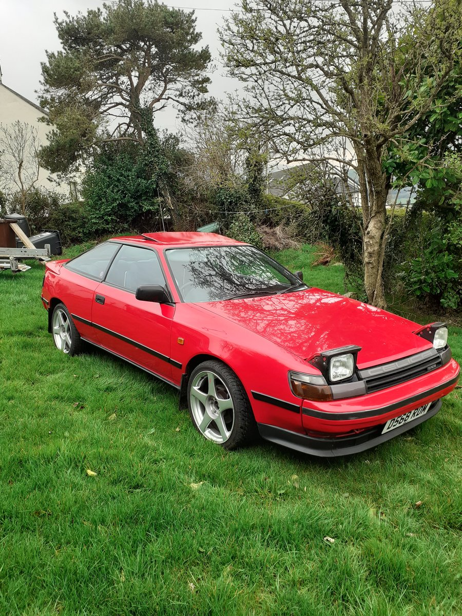 1986 Toyota Celica Gt Twincam St162 SOLD (picture 2 of 6)