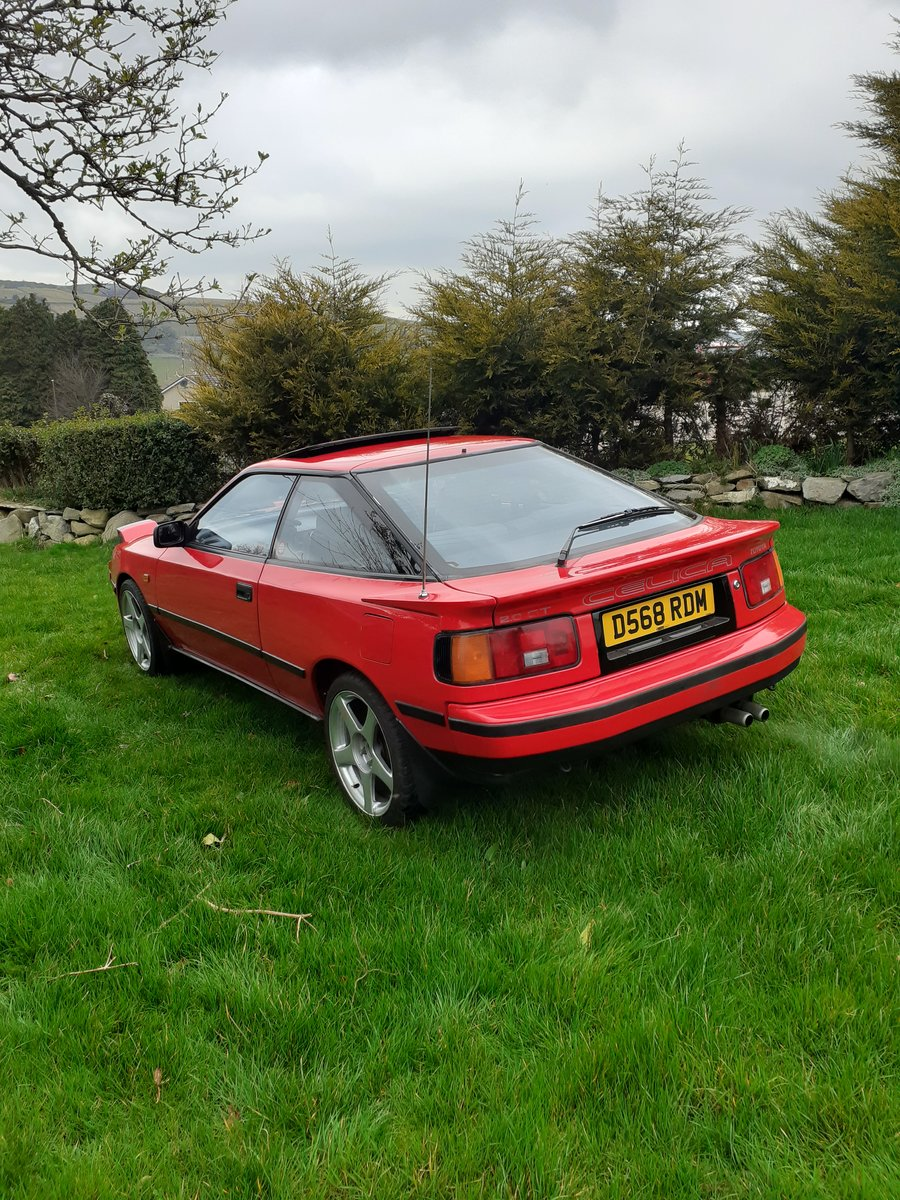 1986 Toyota Celica Gt Twincam St162 SOLD (picture 3 of 6)