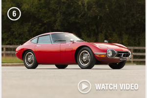 1967 Toyota 2000GT clean and solid red Rare 1 off 351 made For Sale
