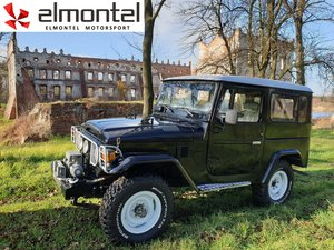 1977 Toyota Land Cruiser BJ40 3,0D  black cabrio