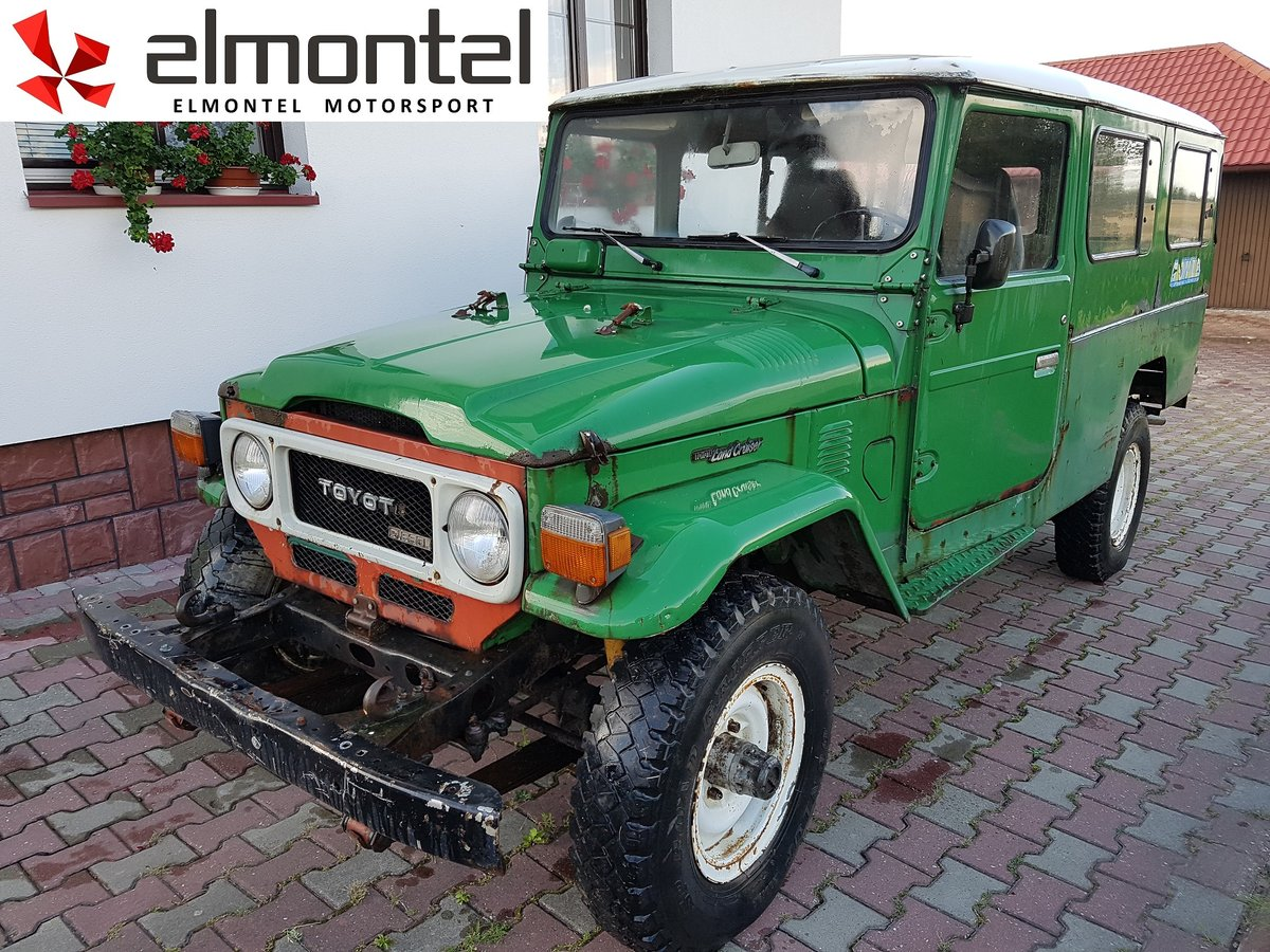 1982 TOYOTA Land Cruiser BJ45 3.4D For Sale (picture 1 of 6)
