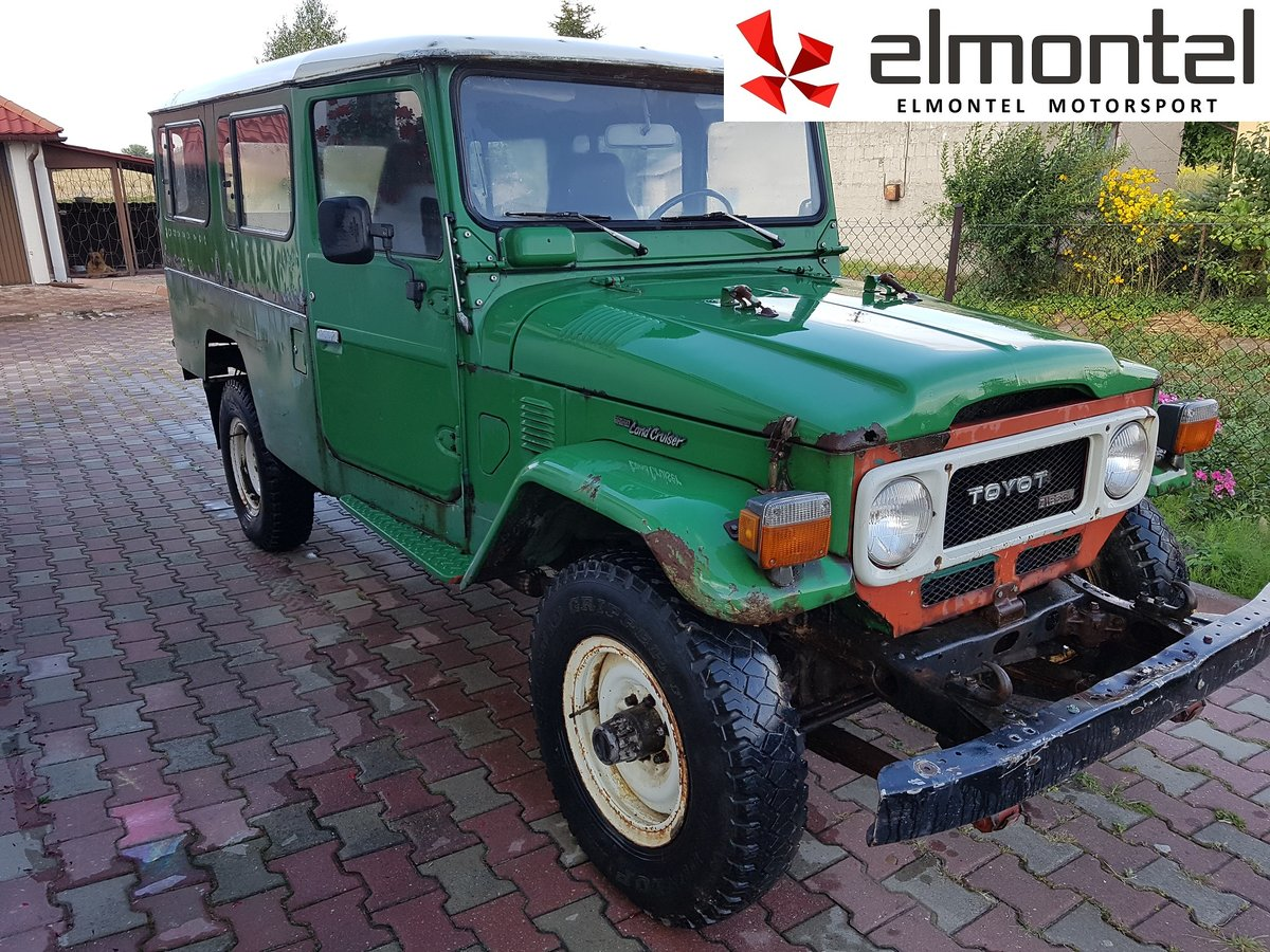 1982 TOYOTA Land Cruiser BJ45 3.4D For Sale (picture 2 of 6)