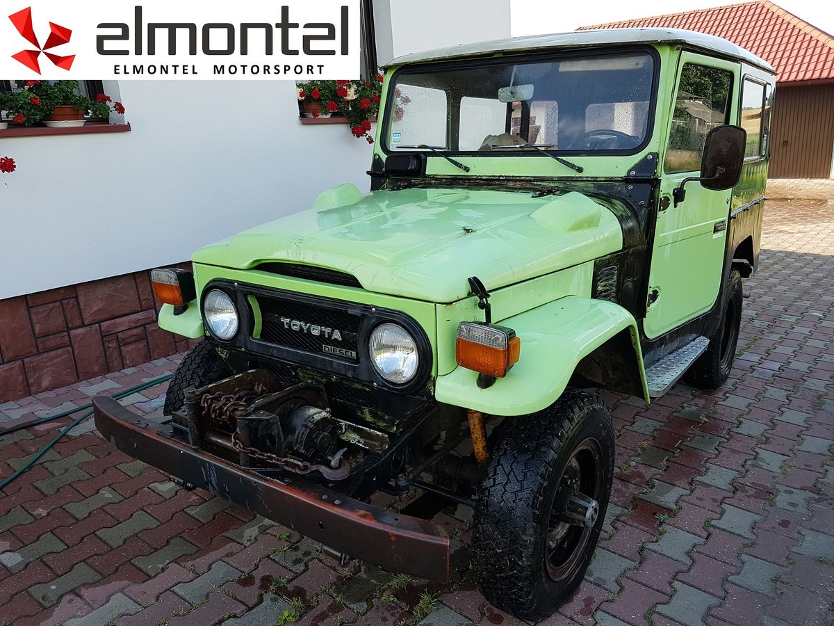 1977 TOYOTA Land Cruiser BJ40 3.0D Mechanic Winch For Sale (picture 1 of 6)