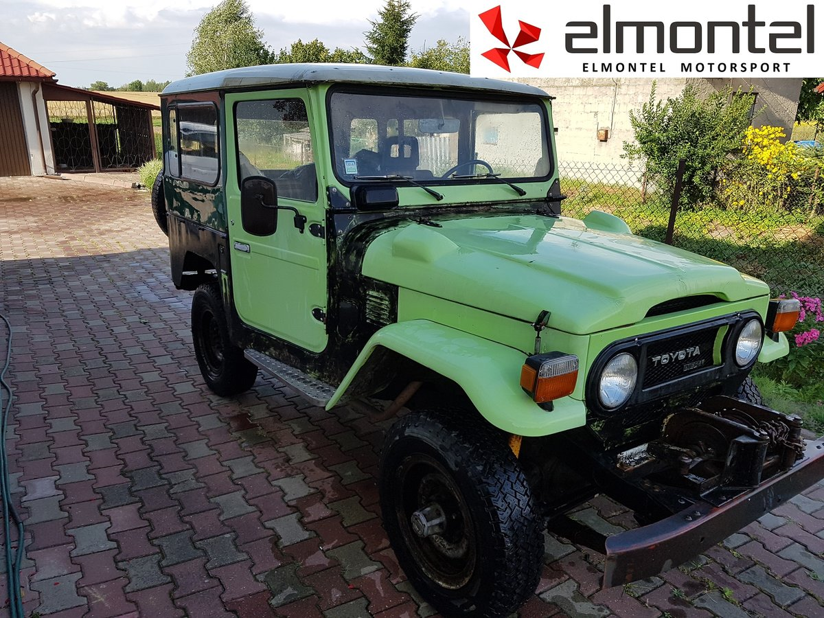 1977 TOYOTA Land Cruiser BJ40 3.0D Mechanic Winch For Sale (picture 2 of 6)