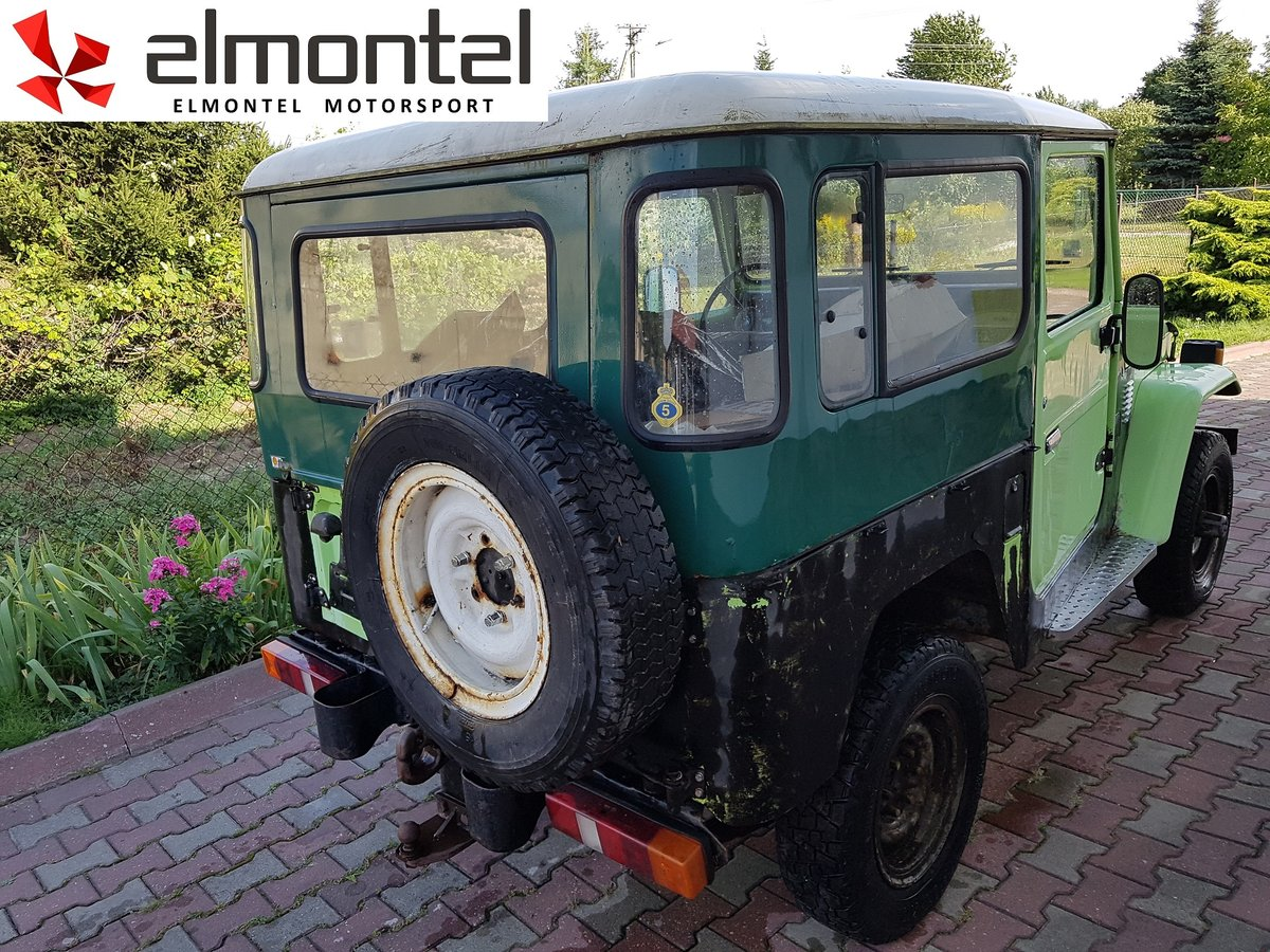1977 TOYOTA Land Cruiser BJ40 3.0D Mechanic Winch For Sale (picture 3 of 6)