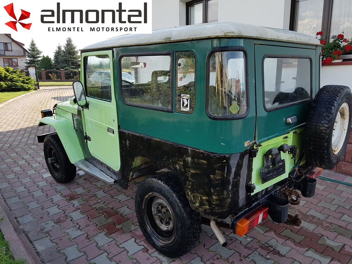 1977 TOYOTA Land Cruiser BJ40 3.0D Mechanic Winch For Sale (picture 4 of 6)