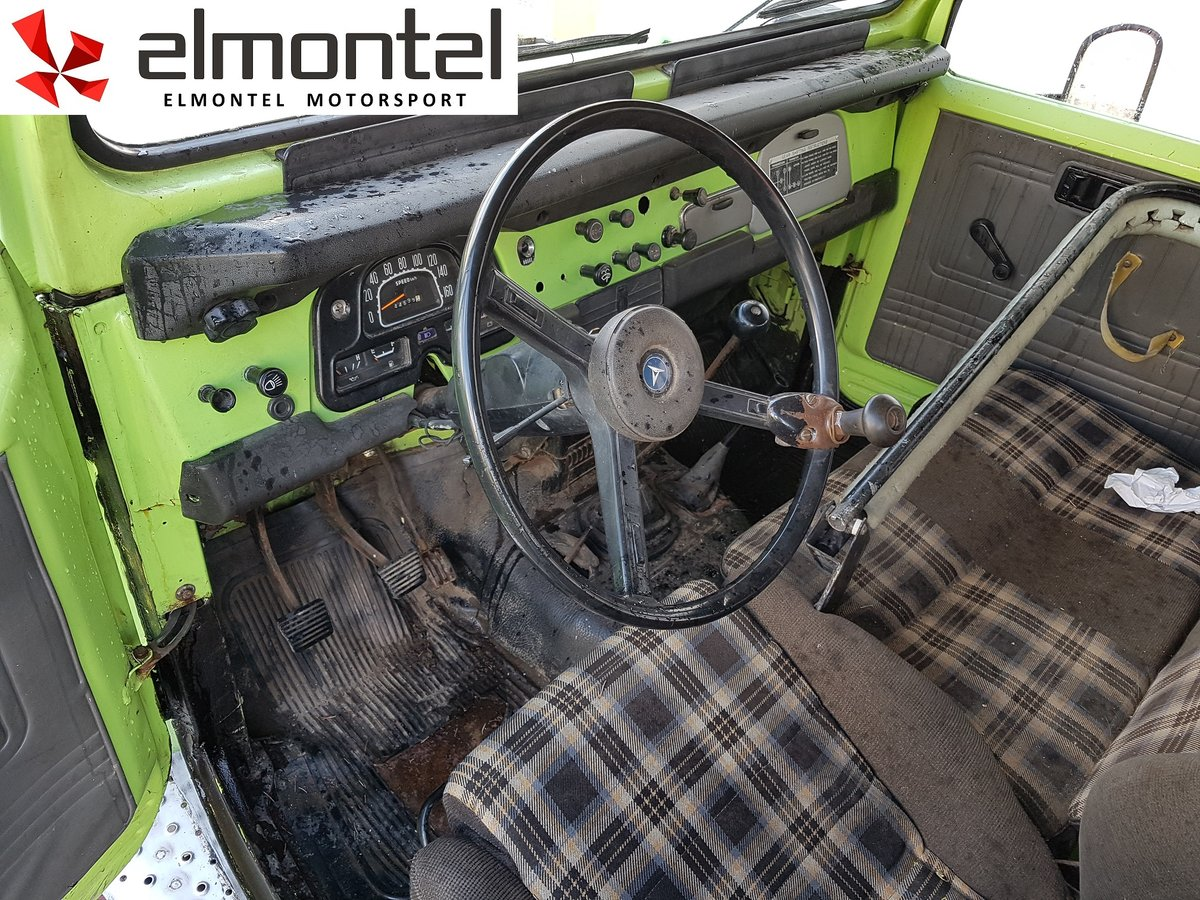 1977 TOYOTA Land Cruiser BJ40 3.0D Mechanic Winch For Sale (picture 5 of 6)