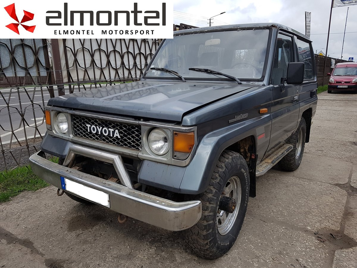 1988 Toyota Land Cruiser LJ70 2,4 TD  For Sale (picture 1 of 6)