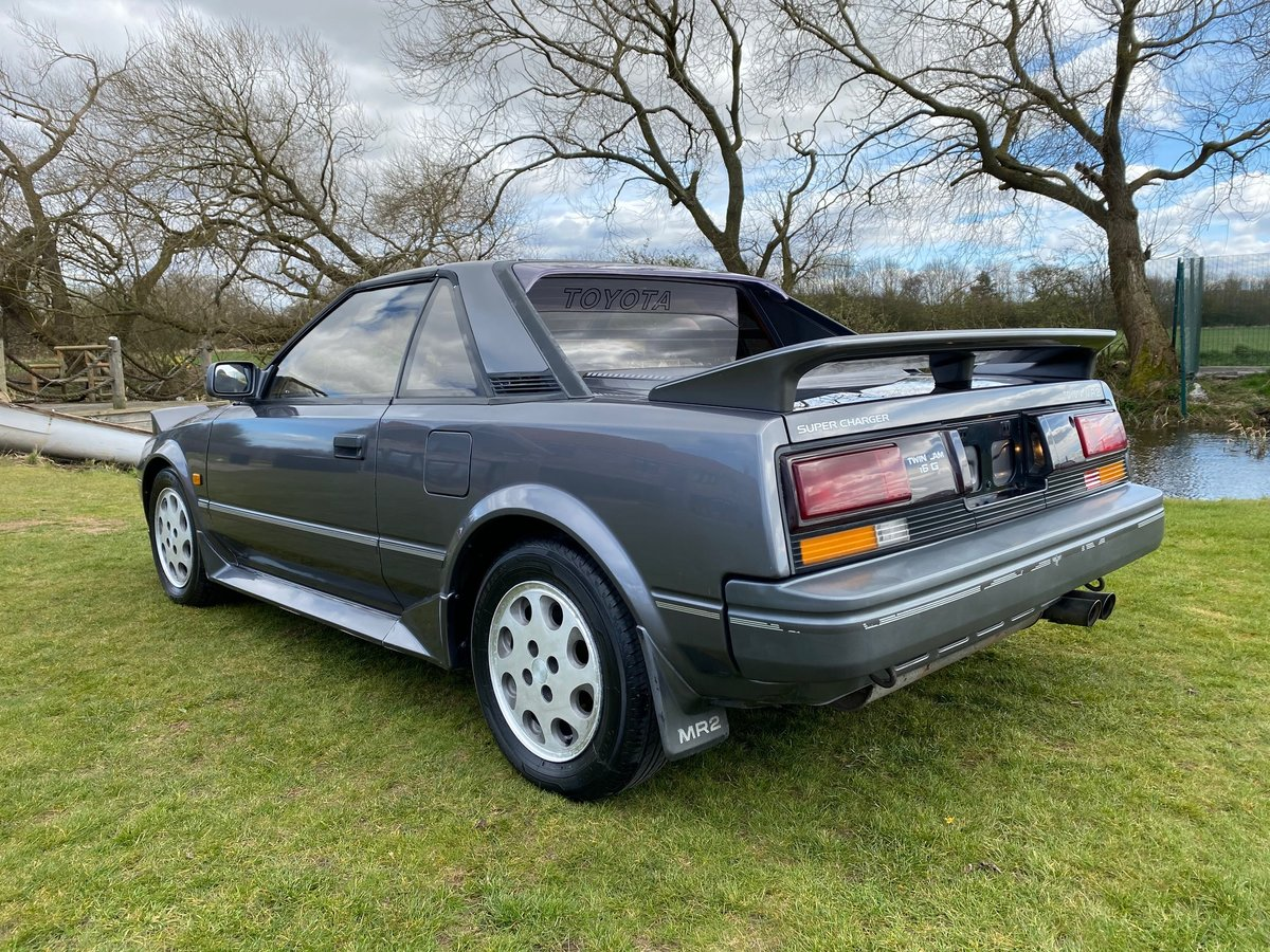 1988 MODERN CLASSIC TOYOTA MR2 T BAR SUPERCHARGER  For Sale (picture 3 of 6)