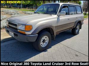 1992 Toyota Land Cruiser J80 SUV 4WD clean driver $7.5k