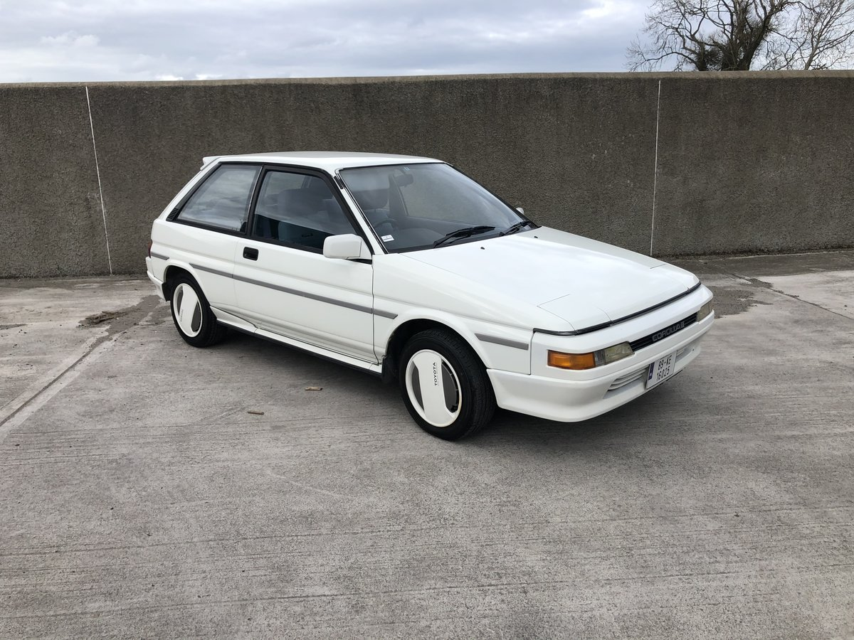 1989 Toyota Corolla 2 EL31 For Sale (picture 1 of 6)
