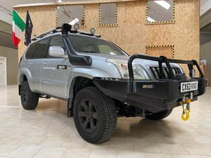 2004 LHD OFF ROAD OVERLAND Toyota Land Cruiser