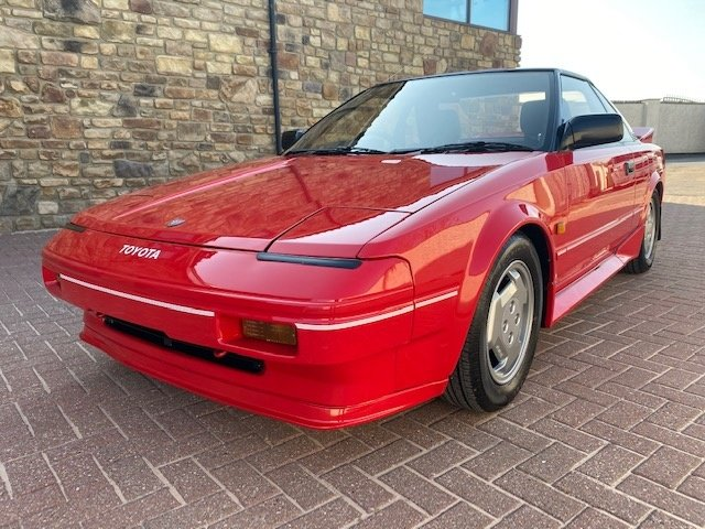 1986 TOYOTA MR2 G LIMITED 1.6 COUPE AUTO INVESTABLE CLASSIC MR2 A For Sale (picture 1 of 6)