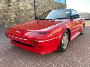 1986 TOYOTA MR2 G LIMITED 1.6 COUPE AUTO INVESTABLE CLASSIC MR2 A