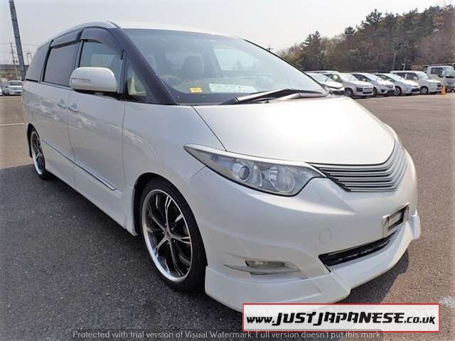 2007 TOYOTA ESTIMA 2.4 AERAS G EDITION, 7 Seats, Automatic For Sale (picture 1 of 6)