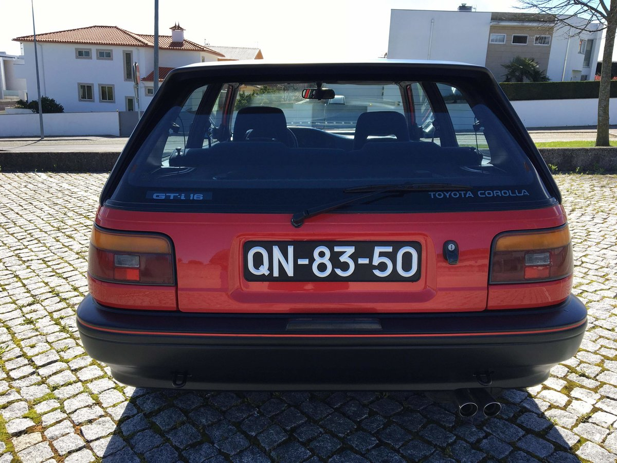 1988 Toyota corolla gti 1.6 16v  125 cv For Sale (picture 3 of 6)