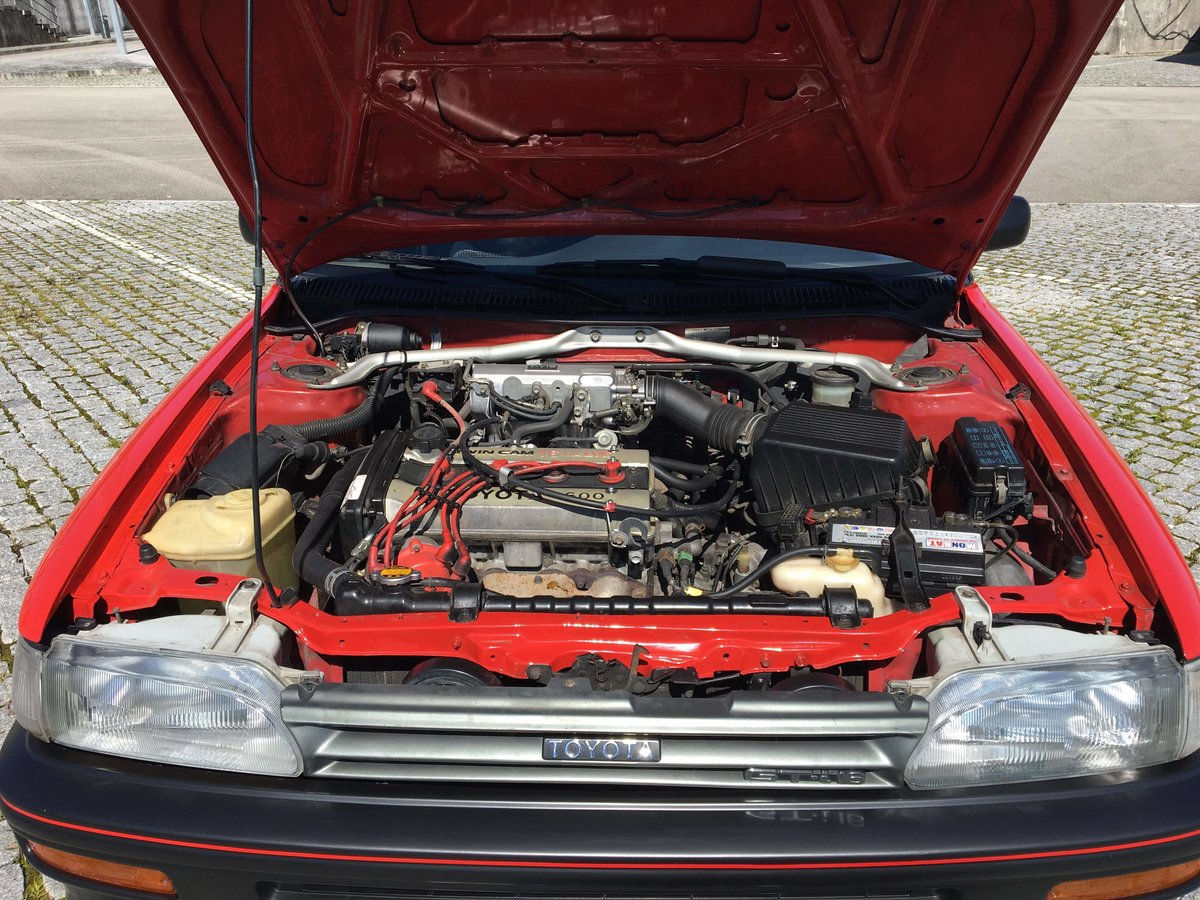 1988 Toyota corolla gti 1.6 16v  125 cv For Sale (picture 4 of 6)