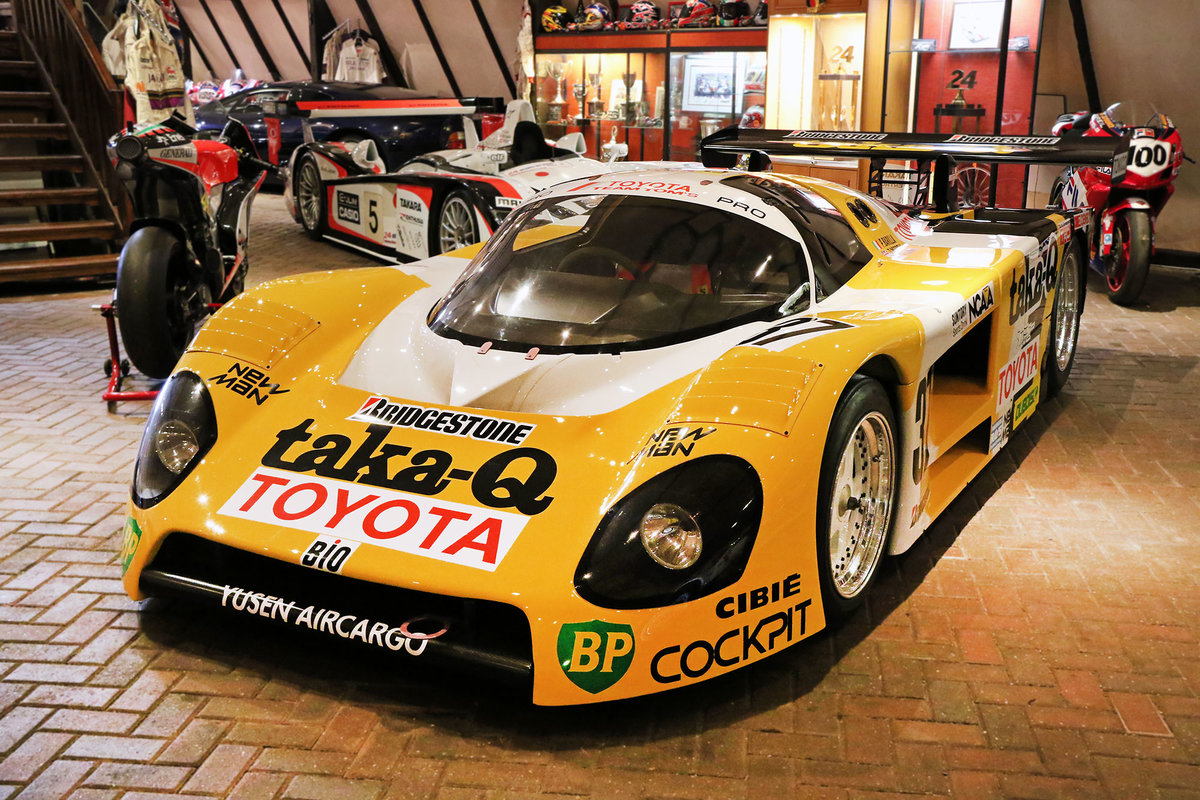 1988 Toyota - One of just two ex-works Le Mans Toyota 88C's For Sale (picture 2 of 6)