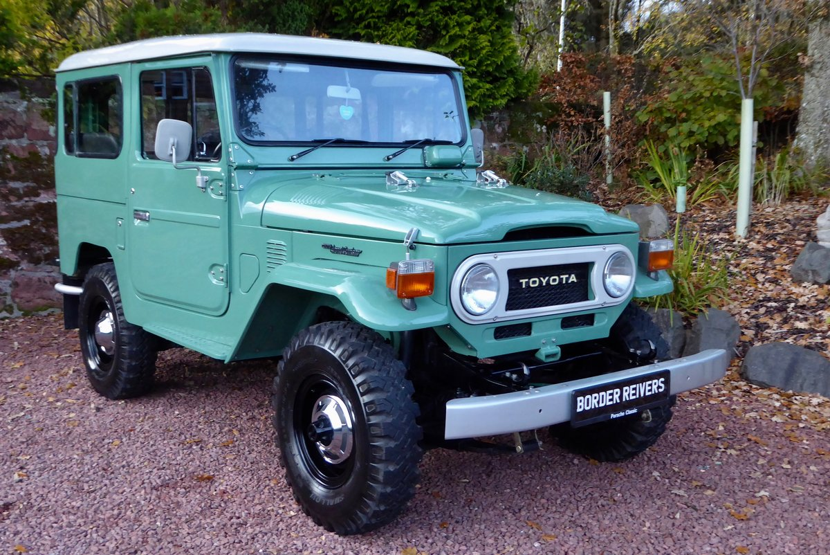 1978 Toyota FJ40 Beautiful & Cool the perfect combo SOLD (picture 1 of 6)