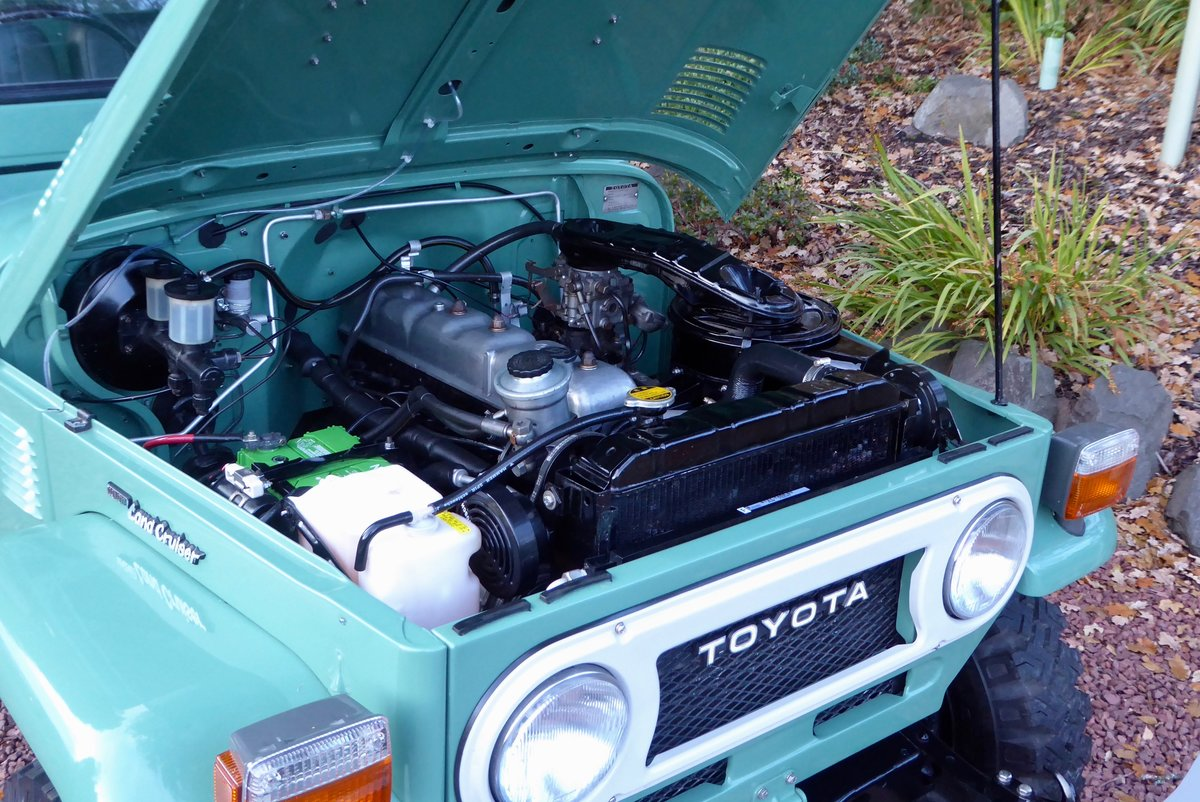 1978 Toyota FJ40 Beautiful & Cool the perfect combo SOLD (picture 3 of 6)