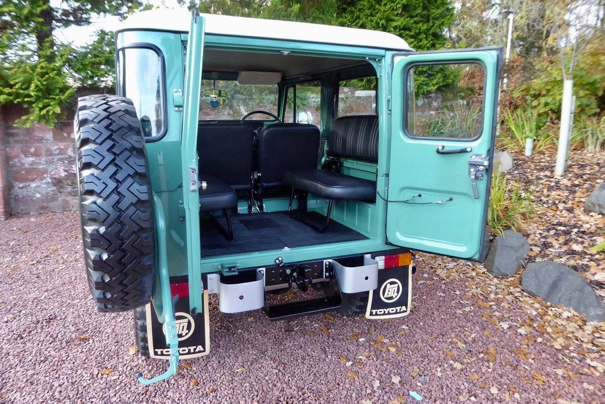 1978 Toyota FJ40 Beautiful & Cool the perfect combo SOLD (picture 6 of 6)