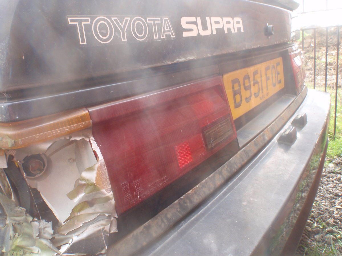 1984 Toyota celica supra, uk rhd with v5. For Sale (picture 4 of 6)